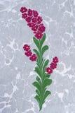 marmorerad paper turk för illustration bakgrund Arkivfoto