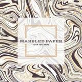 Marmorerad pappers- bakgrund 04 stock illustrationer