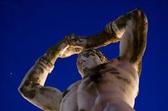 marmorerar stadionseger royaltyfri bild