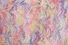 marmorerat papper för illustration bakgrund Arkivbilder