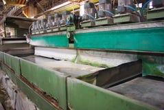 Marmorfabrik stockfotos