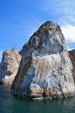 Marmorfelsen Stockbild
