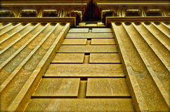 Marmorgebäude-Äußeres Stockfotos