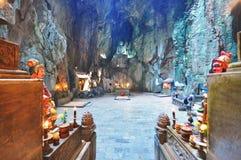 Marmorhöhle, Vietnam Stockfotos