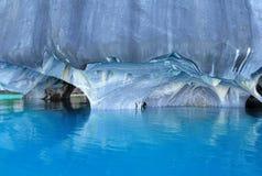 Marmorhöhlen. Lizenzfreie Stockbilder