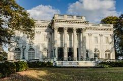Marmorhus - Newport, Rhode Island arkivbilder