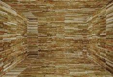 Marmorinnenraum mit Wand Stockfotografie