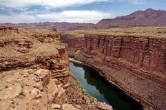 Marmorizzi il canyon Immagine Stock