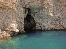 Marmorizzi la caverna (Grotto). La Turchia. fotografia stock libera da diritti