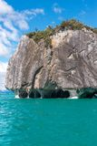 Marmorkathedrale von See General Carrera, chilenischer Patagonia lizenzfreie stockbilder