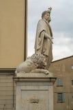 Marmormonument av Arezzo Arkivbild
