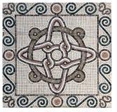 Marmormosaikbeschaffenheitshintergrund Lizenzfreie Stockbilder