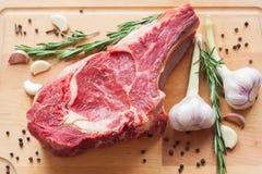 Marmornötköttkött med kryddan Royaltyfri Fotografi