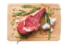 Marmornötköttkött med kryddan Royaltyfria Foton