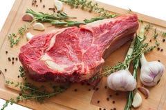 Marmornötköttkött med kryddan Fotografering för Bildbyråer