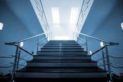 Marmorn Sie Treppenhaus Stockbilder