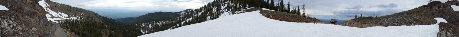 Marmornebenfluss-Gipfel Lizenzfreies Stockfoto