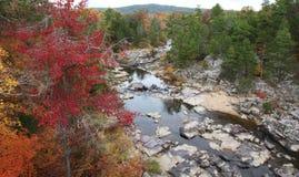 Marmornebenfluss-Nationalpark in ländlichem Missouri stockbilder