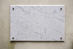 marmorplatta Royaltyfri Fotografi