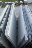 Marmorplatten Stockfotografie