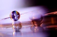 marmorpurple Fotografering för Bildbyråer