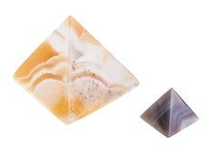 Marmorpyramiden Stockbilder