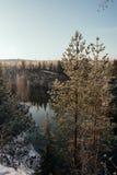 Marmorschlucht im Winter Lizenzfreie Stockfotografie