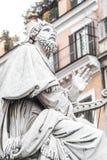 Marmorstatue von Mosese, Lizenzfreies Stockfoto