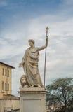 Marmorstaty av Arezzo Arkivbild