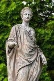 Marmorstatyn av roman Ceres eller den grekiska demeteren in royaltyfria bilder