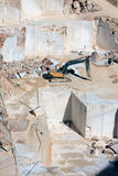Marmorsteinbruch nahe Borba, Portugal Stockfotos
