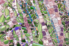Marmorsteinmosaikbeschaffenheit Lizenzfreie Stockbilder
