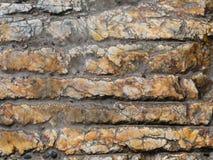 Marmorstreifen auf Bahn Stockbild