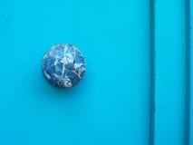 Marmortürknopf Stockbild