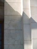 Marmortegelplattor på väggen Arkivbilder