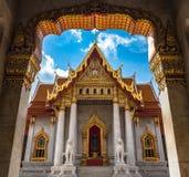 Marmortempel, Bangkok Thailand Stockfotografie