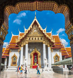 Marmortempel, Bangkok Thailand Lizenzfreie Stockfotos