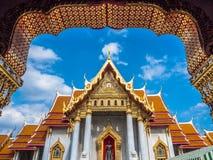 Marmortempel, Bangkok Thailand Lizenzfreies Stockfoto