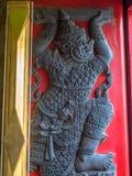 Marmortempel, Bangkok Thailand Lizenzfreies Stockbild