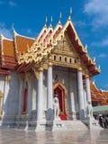 Marmortempel, Bangkok Thailand Stockbilder