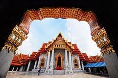 marmortempel thailand Royaltyfria Bilder