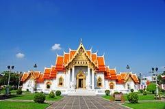 Marmortempel in Thailand Lizenzfreies Stockbild