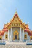 Marmortemplet, Wat Benchamabophit Dusitvanaram Bangkok royaltyfria bilder