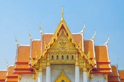 Marmortemplet, Wat Benchamabophit Dusitvanaram Bangkok royaltyfri fotografi