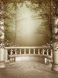 marmoruteplatsvines Royaltyfria Bilder