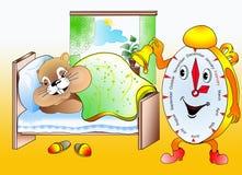 Marmot, beeld, illustratie Stock Foto