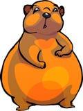 Marmot. Vector illustration. Sketch of a marmot as a vector illustration Royalty Free Stock Photos