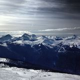 Marmota Heli Skiing Fotografía de archivo