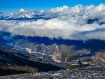 Marmotas montaña, Jasper National Park, Alberta, Canadá Fotos de archivo libres de regalías