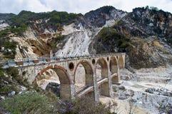 marmur bridżowa kopalnia zdjęcia royalty free
